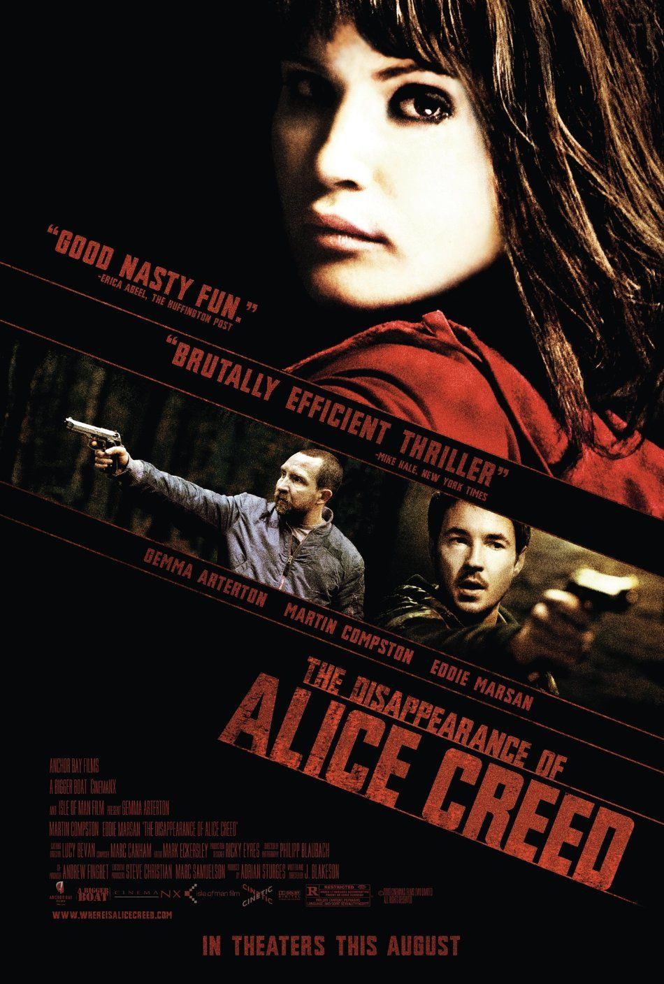 the disappearance of alice creed izle
