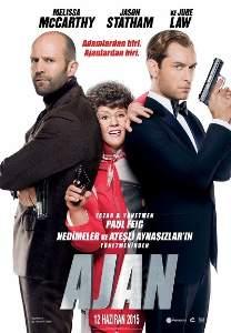 Ajan – Spy 2015 Türkçe Dublaj Filmini HD izle