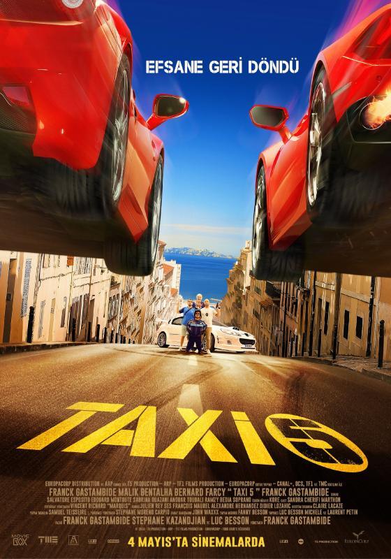 Taksi 5 – Taxi 5 (2018) Türkçe Dublaj izle