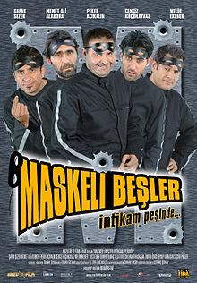 Maskeli Beşler İntikam Peşinde Filmini izle