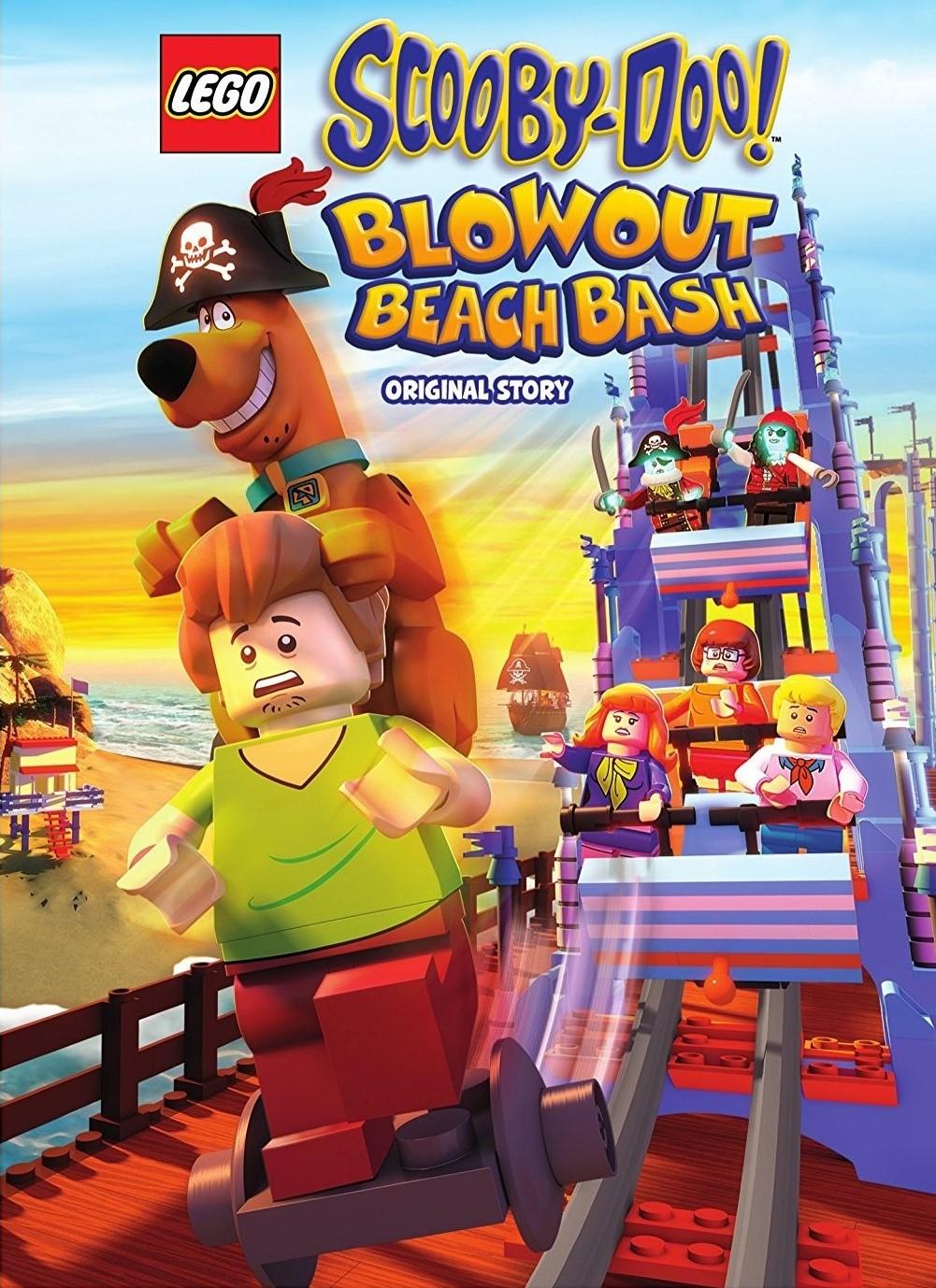 Lego Scooby-Doo! Lanetli Plaj Türkçe Dublaj izle