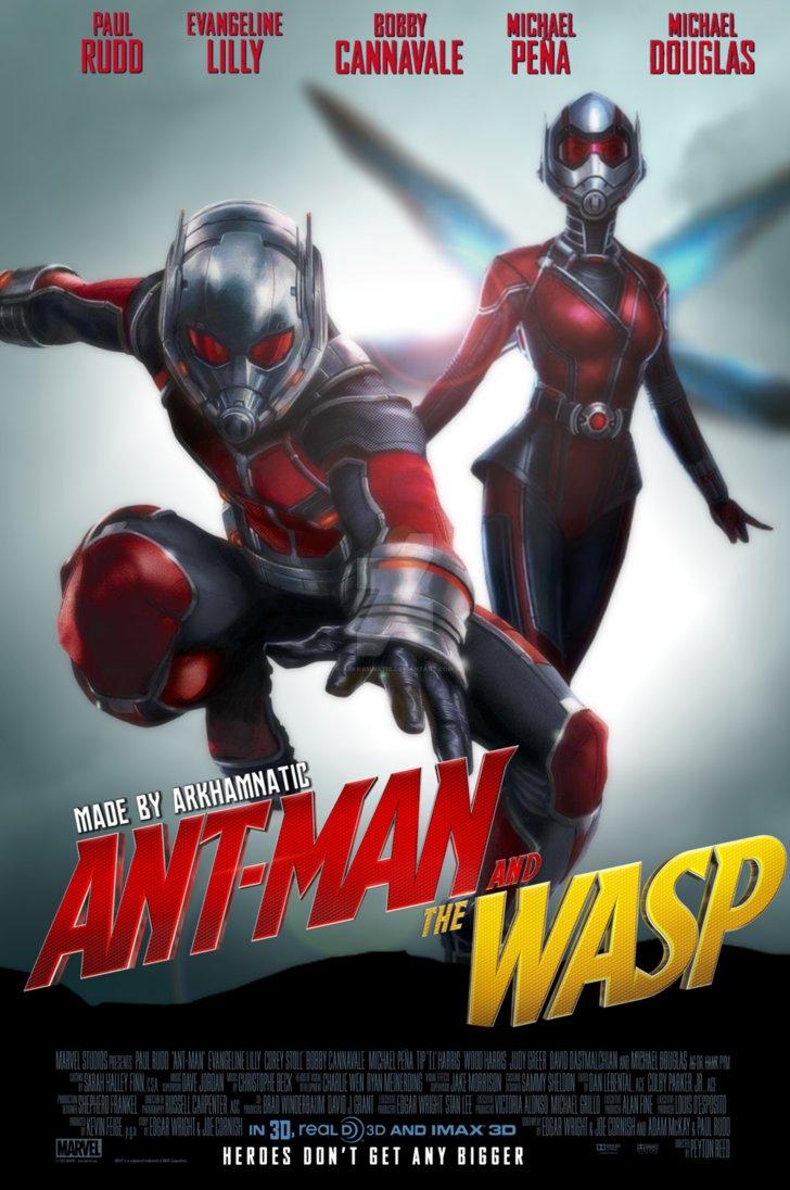 Karınca Adam ve Eşek Arısı Filmi Tek Part izle