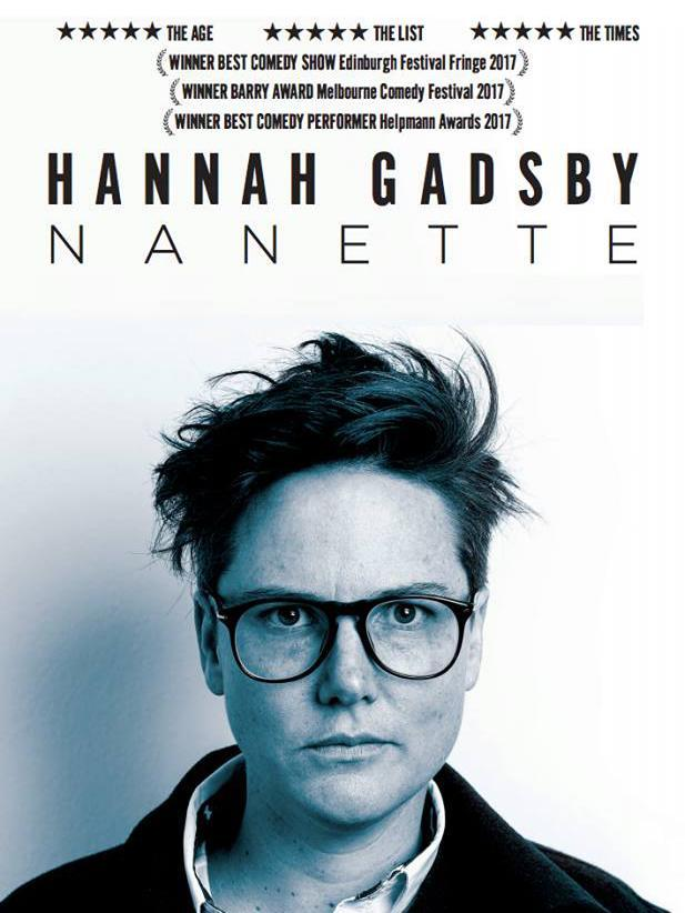 Hannah Gadsby: Nanette 2018 Stand Up izle