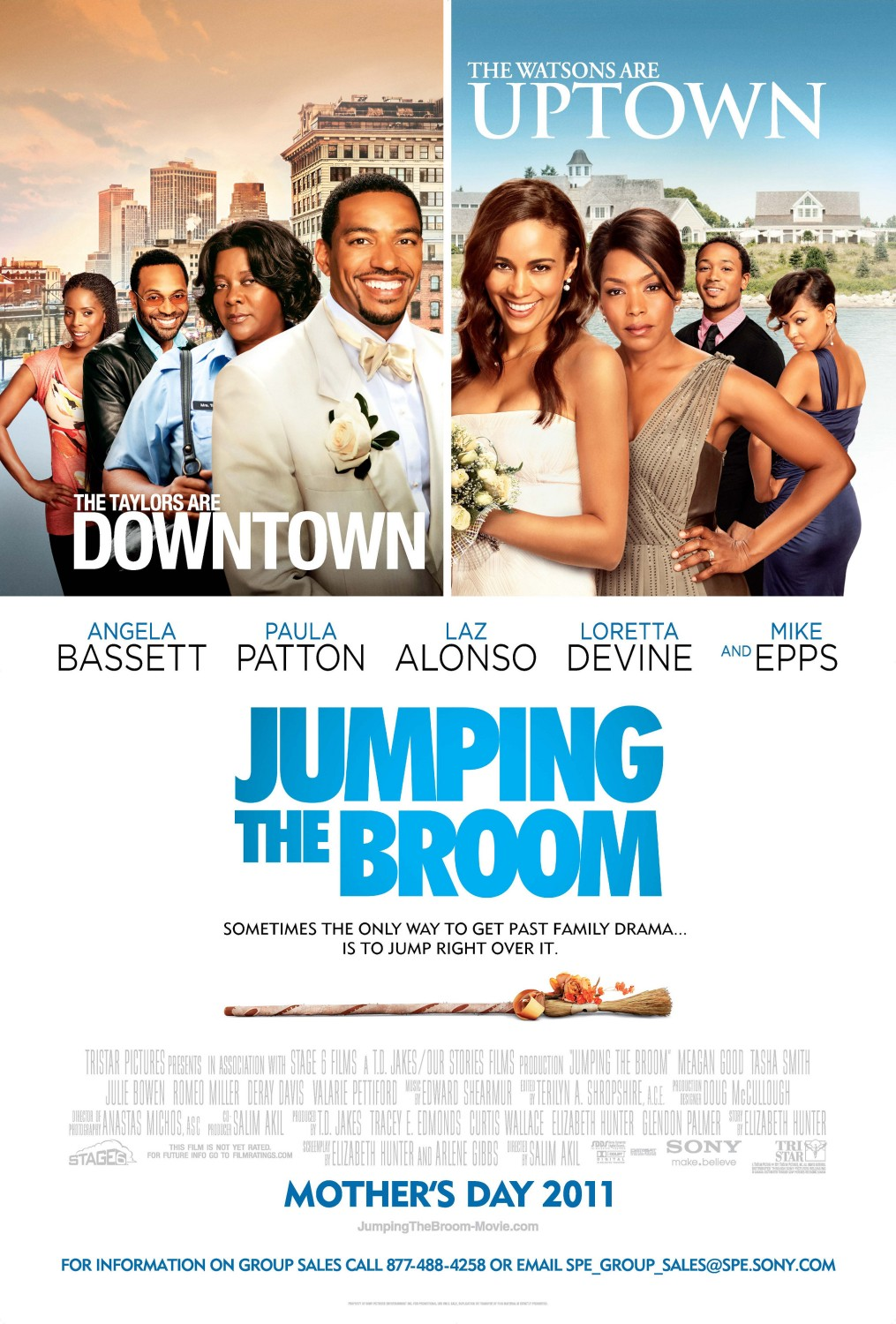 Zor Düğün – Jumping The Broom HD Filmi izle